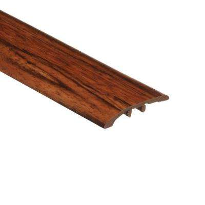 Rosewood 1/8 in. Thick x 1-3/4 in. Wide x 72 in. Length Vinyl Multi-Purpose Reducer Molding