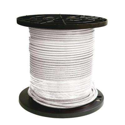 1000 ft. 6 White Stranded THHN Wire