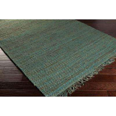 Tropica Harper Teal 2 ft. x 10 ft. Indoor Runner Rug