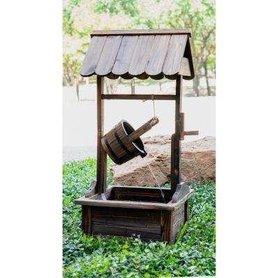 Patio Premier Wood Bucket of Luck Fountain
