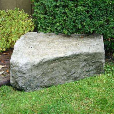 "14""Hx 27""W x 35""L -RIGHT TRIANGE LANDSCAPING ROCK - OAK"