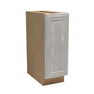 Brookfield Assembled 18x34.5x24 in. Double Pullout Wastebasket Base Kitchen Cabinet in Pacific White