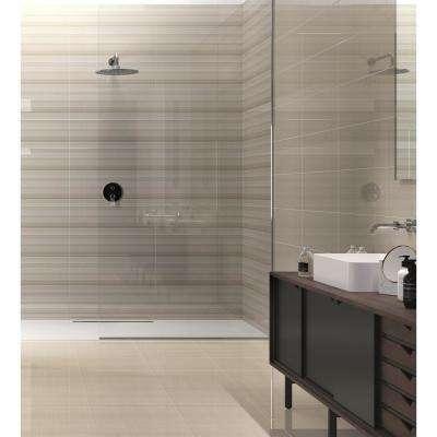 Vertigo White Matte 9.84 in. x 29.53 in. Ceramic Wall Tile (14.126 sq. ft. / case)