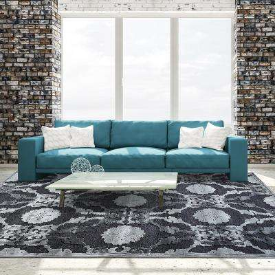 Amadeus Steel 7 ft. 8 in. x 10 ft. Area Rug