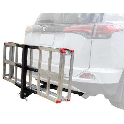 500 lb. Capacity Aluminum Hitch Cargo Carrier