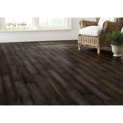 Hand Scraped Strand Woven Tacoma 3/8 in. T x 5-1/5 in. W x 36.22 in. L Solid Bamboo Flooring(26.14 sq. ft. / case)