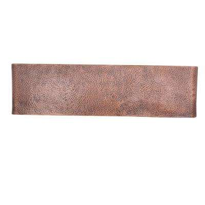 Rockwell Farmhouse/Apron-Front Handmade Solid Copper 33 in. Double Bowl 50/50 Kitchen Sink in Antique Copper