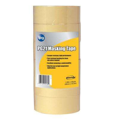 PG 21 2.0 in. x 60 yd. Lacquer Resistant Performance Grade Masking Tape (6-Pack)