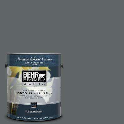 Home Decorators Collection 1-gal. #HDC-MD-28 Cordite Satin Enamel Interior Paint