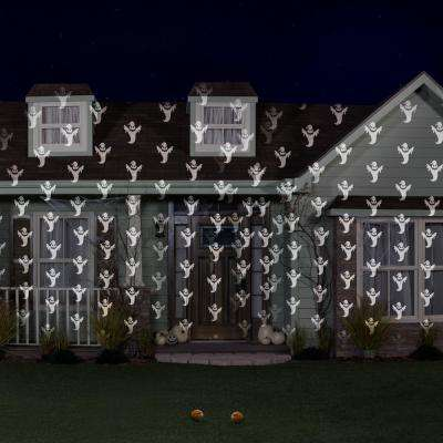 Halloween Lightshow Projection-Shades of Halloween-Ghost in White (2-Pack)