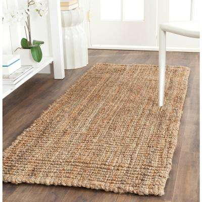 Natural Fiber Beige 2 ft. x 18 ft. Runner Rug