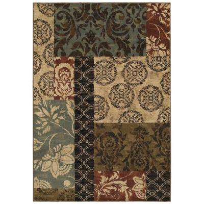 Finley Patchwork Multi 5 ft. 3 in. x 7 ft. 6 in. Area Rug