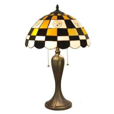 24 in. Tiffany Pittsburgh Steelers Desk Lamp