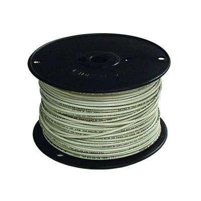 500 ft. 18 White Stranded CU TFFN Fixture Wire