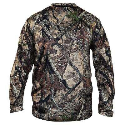 Men's Camouflage Long Sleeve Camo Cotton Tee