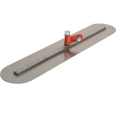 36 in. x 5 in. Fresno Round-End Trowel