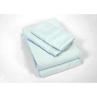 100% Rayon from Bamboo Sky Queen Sheet Set