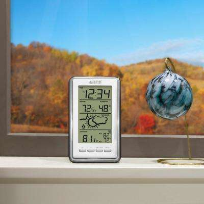 Digital Forecast Station with Temperature and Humidity