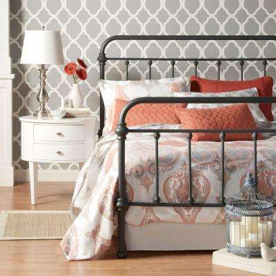 Calabria Grey Full Bed Frame