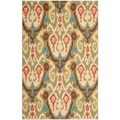 Chelsea Green/Multi 5 ft. 3 in. x 8 ft. 3 in. Area Rug