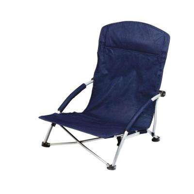 Navy Tranquility Portable Beach Patio Chair
