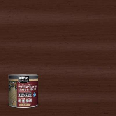 8 oz. #ST117 Russet Semi-Transparent Waterproofing Stain and Sealer Sample