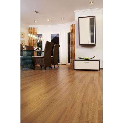 Cumberland Oak 8 mm Thick x 7 19/32 in. Wide x 54 7/16 in. Length Laminate Flooring (20.11 sq. ft. / case)
