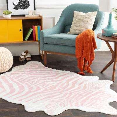 Omari Rose 5 ft. x 6 ft. 6 in. Animal Print Area Rug