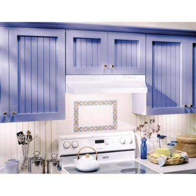 RL6300 Series 30 in. Under Cabinet Range Hood with Light in White