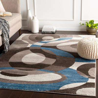 Silas Sky 2 ft. x 7 ft. 5 in. Chevron Runner Rug