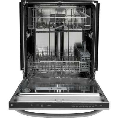 Top Control Dishwasher in Stainless Steel with Stainless Steel Tub, 57 dBA
