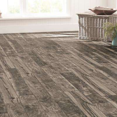 Cinder Wood Fusion 12 mm Thick x 6-3/16 in. Wide x 50-3/4 in. Length Laminate Flooring (697.6 sq. ft. / pallet)