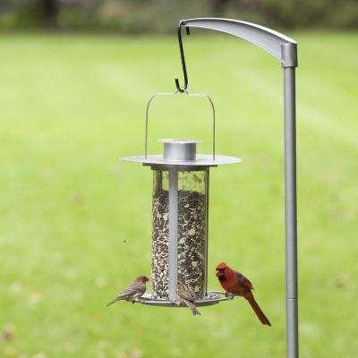 Solar Lantern Hanging Bird Feeder - 3.5 lb. Capacity