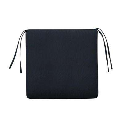 Sunbrella Canvas Navy Square Outdoor Seat Cushion