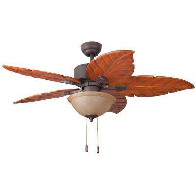 Hammock Bay 52 in. Bronze Ceiling Fan