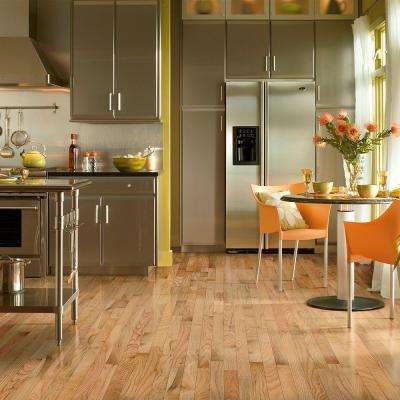 Oak Rustic Natural 3/4 in. Thick x 2-1/4 in. Wide x Varying Length Solid Hardwood Flooring (20 sq. ft. / case)