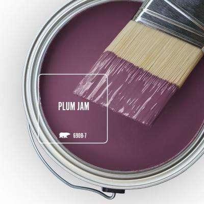 Plum Jam Paint Colors Paint The Home Depot