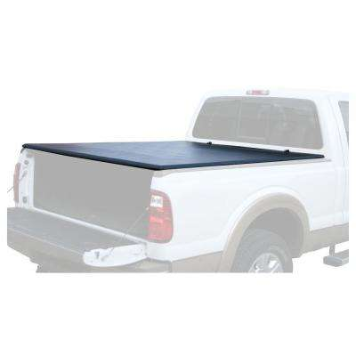 80.5 in. x 66.75 in. Vinyl Tonneau Truck Bed Cover for Ford F150