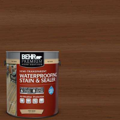 #ST-110 Chestnut Semi-Transparent Weatherproofing Wood Stain