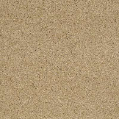 Carpet Sample - Miraculous I - Color Warm Almond Texture 8 in. x 8 in.