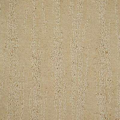 Carpet Sample - Mountain Top - Color Macadamia Loop 8 in. x 8 in.