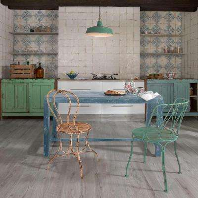 Artisan Azul Decor 13 in. x 13 in. Ceramic Floor and Wall Tile (12.2 sq. ft. / case)