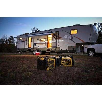 3150-Watt Gasoline Powered Wireless Remote Start Inverter Generator with Champion 171cc 4-Stroke Engine