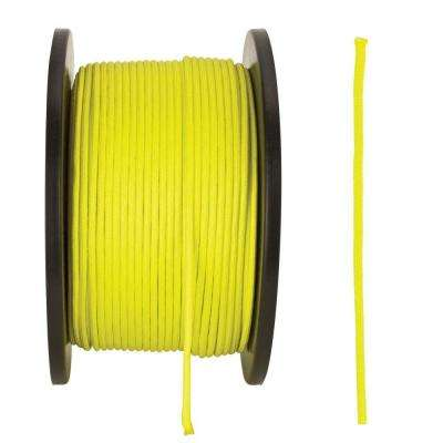 1/8 in. x 500 ft. Neon Yellow Paracord