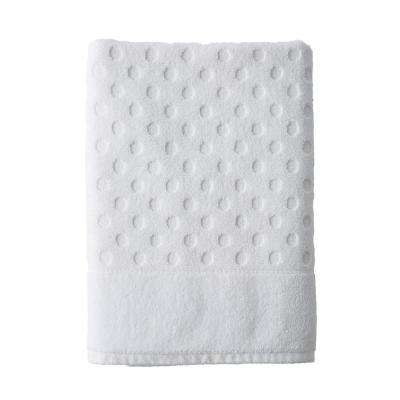Dot Supima Cotton Single Towel