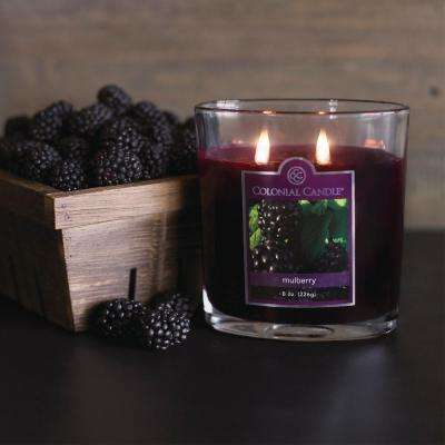 22 oz. Mulberry Oval Jar Candle
