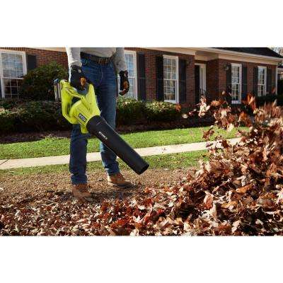 110 MPH 500 CFM 40-Volt Lithium-Ion Cordless Variable-Speed Jet Fan Leaf Blower, 4.0 Ah Battery and Charger Included