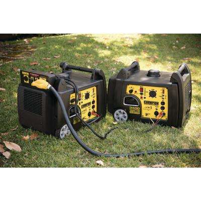 3100-Watt Gasoline Powered Wireless Remote Electric Start Portable Generator with Champion 192cc 4-Stroke Engine