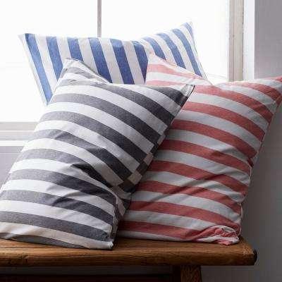 Awning Stripe Space-Dyed Jersey Knit Sham