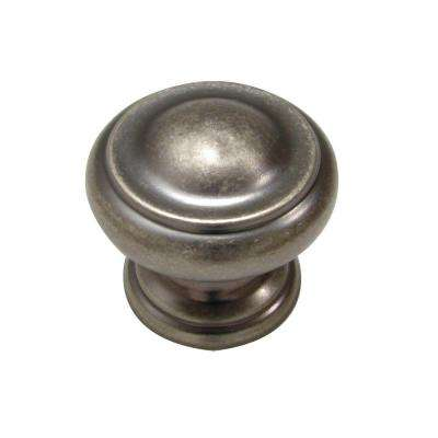 1-3/16 in. Pewter Cabinet Knob